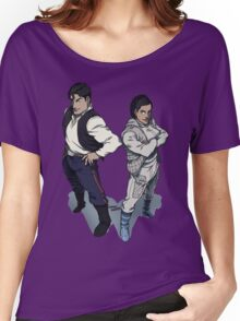 Star Wars excitement in the DCU Women's Relaxed Fit T-Shirt