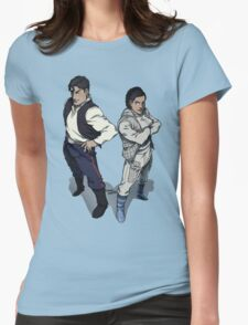 Star Wars excitement in the DCU Womens Fitted T-Shirt