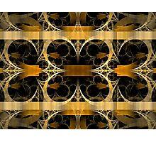 Splits-Crop Gold Photographic Print