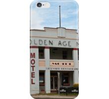 0195 Golden Age Motel, Omeo iPhone Case/Skin