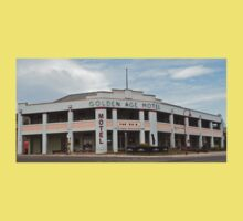 0195 Golden Age Motel, Omeo Baby Tee