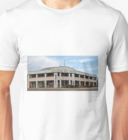 0195 Golden Age Motel, Omeo Unisex T-Shirt