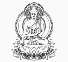 BUDDHA ONYX BLACK T-Shirt