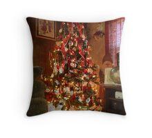 2011 Tree Throw Pillow