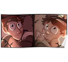 Over the Garden Wall: Wirt & Greg Poster