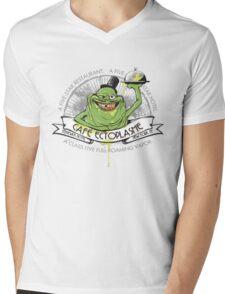 Café Ectoplasme Mens V-Neck T-Shirt