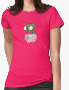 Gir and Piggy Womens Fitted T-Shirt