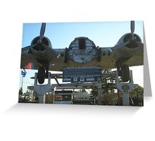 The Bomber Greeting Card