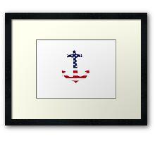 American anchor Framed Print