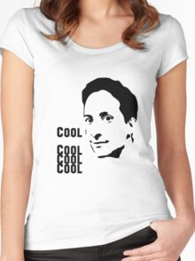 Cool. Cool Cool Cool.  Women's Fitted Scoop T-Shirt