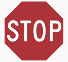 Stop sign by sundayedition