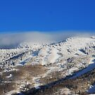 Fog Clouds on the Mountain  by barnsis