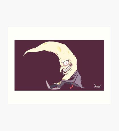 Moonman Art Print