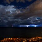 North Beach Lightning by Paul Pichugin