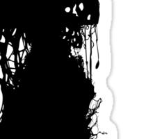 Decaying Zombie 3 Sticker