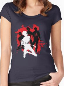 Decaying Zombies Women's Fitted Scoop T-Shirt