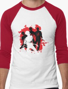 Decaying Zombies Men's Baseball ¾ T-Shirt