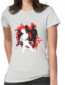 Decaying Zombies Womens Fitted T-Shirt