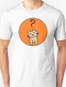 Confused Cat Unisex T-Shirt
