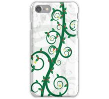 Green Flourish iPhone Case/Skin