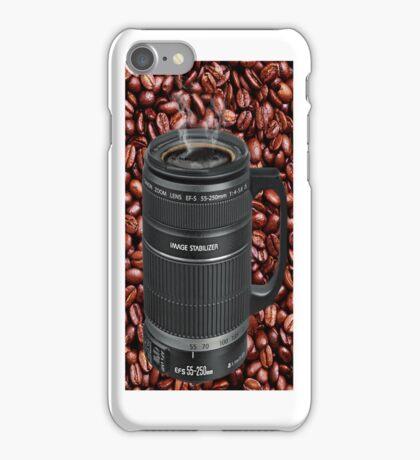 ✿◕‿◕✿  ❀◕‿◕❀TELESCOPIC LENSE COFFEE CUP ✿◕‿◕✿  ❀◕‿◕❀ iPhone Case/Skin
