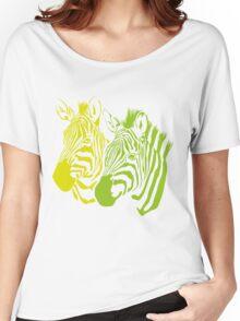 zebras Women's Relaxed Fit T-Shirt