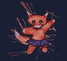 Cute Little Fox Kids Tee