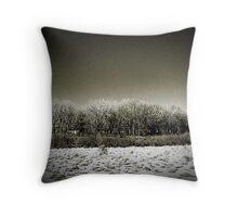 Tonal Trees Throw Pillow