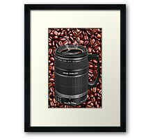 ✿◕‿◕✿  ❀◕‿◕❀ TELESCOPIC LENSE CUP OF COFFEE  ✿◕‿◕✿  ❀◕‿◕❀ Framed Print