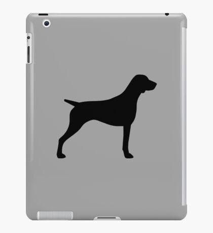 German Shorthaired Pointer Silhouette(s) iPad Case/Skin