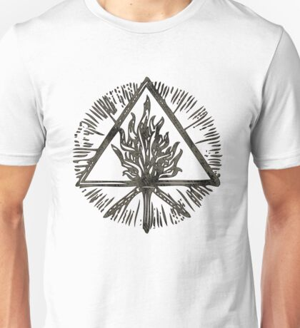 ANCIENT FIRE SYMBOL - the storm Unisex T-Shirt