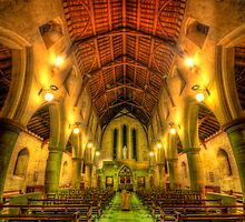 Mount Saint Bernard Abbey - The Nave by Yhun Suarez