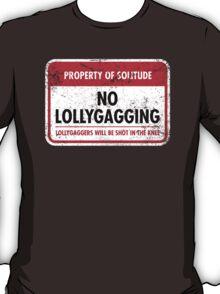 Solitude Municipal Ordinance T-Shirt