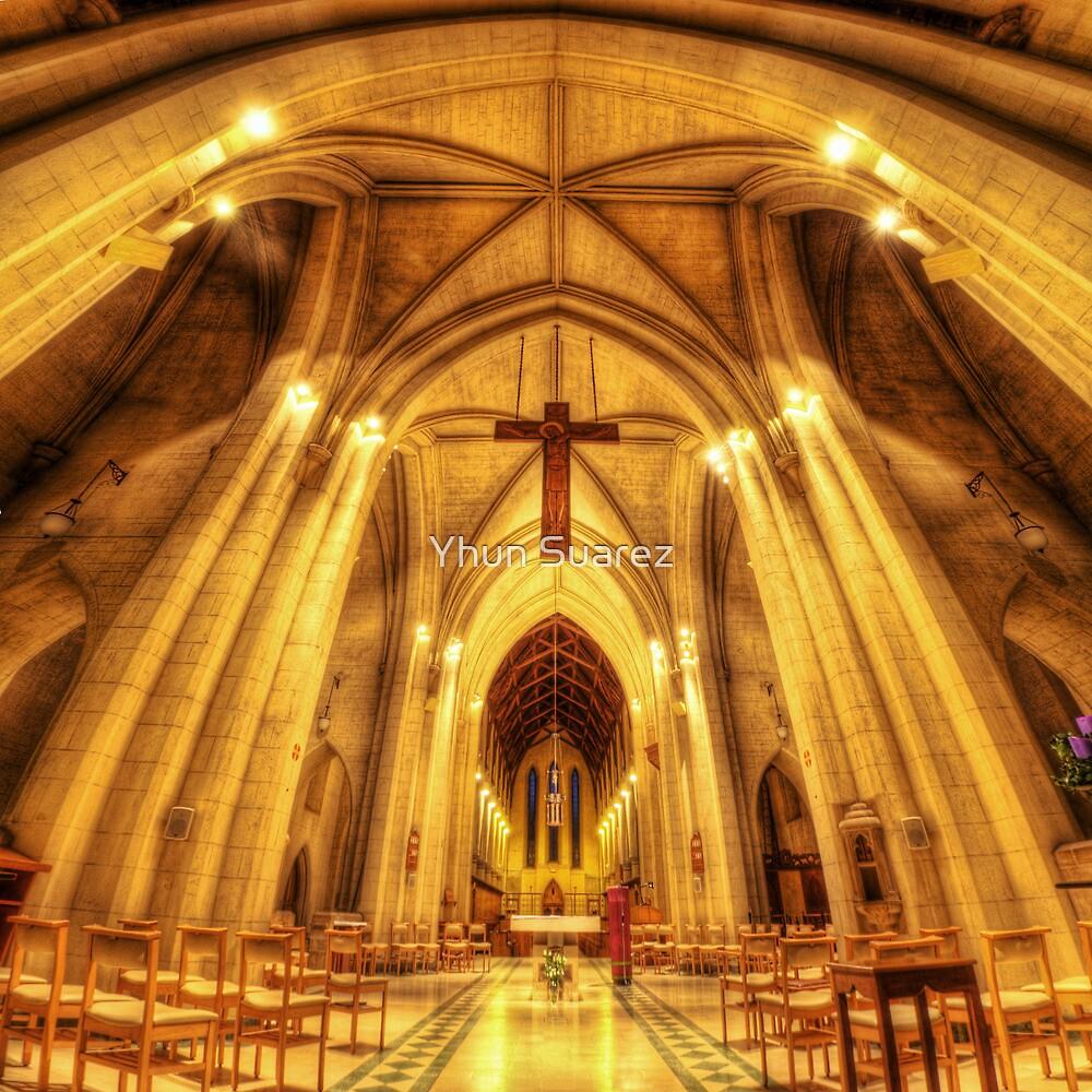 Mount Saint Bernard Abbey - The Altar by Yhun Suarez