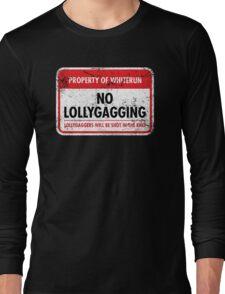 Whiterun Municipal Ordinance Long Sleeve T-Shirt