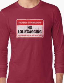Winterhold Municipal Ordinance Long Sleeve T-Shirt