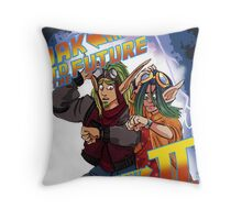 Jak to the Future Throw Pillow