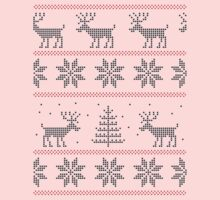 nordic Xmas pattern One Piece - Long Sleeve