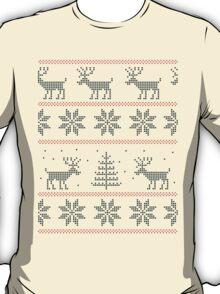 nordic Xmas pattern T-Shirt