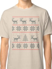 nordic Xmas pattern Classic T-Shirt