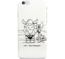 Axel Greatchopper iPhone Case/Skin