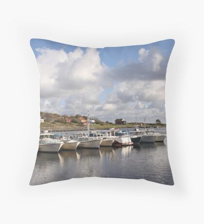 South Koster harbour Throw Pillow