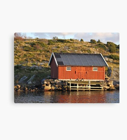 South Koster boathouse Canvas Print