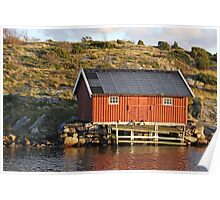 South Koster boathouse Poster