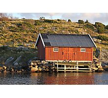 South Koster boathouse Photographic Print