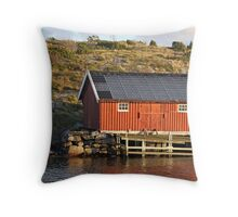 South Koster boathouse Throw Pillow