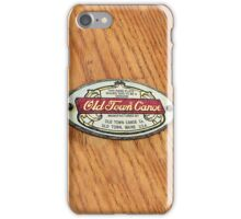 Old Town Canoe iPhone case iPhone Case/Skin