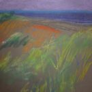 pastel landscape by Annie Wise