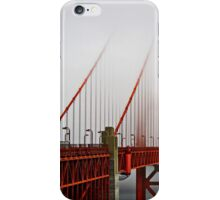 Golden Gate Bridge in Fog iPhone Case/Skin
