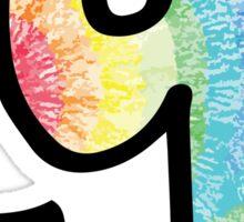 "Tie Dye ""G"" Sticker"